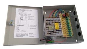 Alimentación centralizada SE-FAC12109 CCTV de 9 salidas y 10A