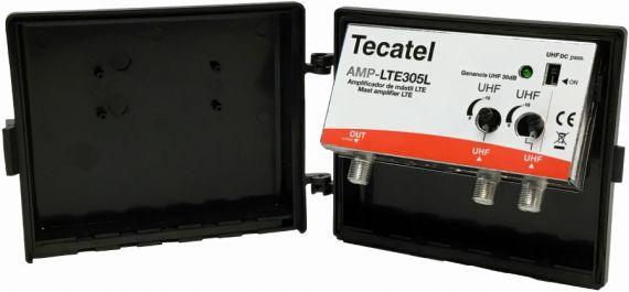 30dB 2xUHF LTE 5G Tecatel AMP-LTE305L Mast Amplifier