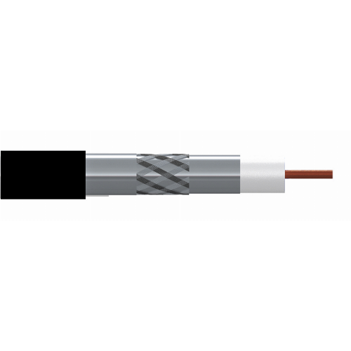 Cable Coaxial CCS/CCS LTE 96 Exterior PE Negro (100m)