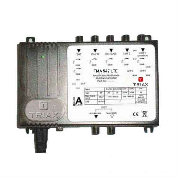 Triax TMA 547 LTE 5G Multiband Amplifier