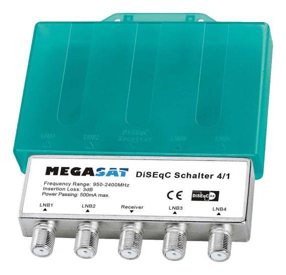 Diseqc 4x1 de Megasat