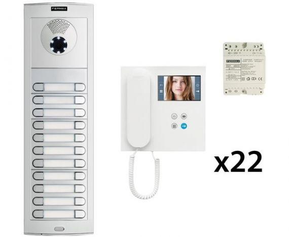 Video entry kit DUOX 22 Homes Fermax