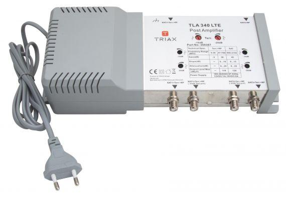 Line Amplifier TLA 347 LTE700 2in/2out SAT+TERR 40dB 5G