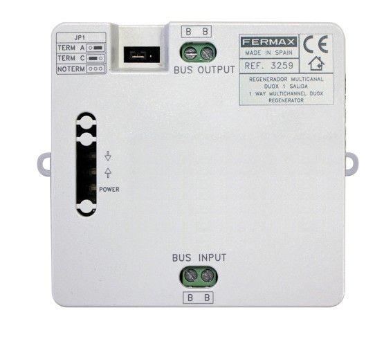 Regenerador Multicanal DUOX 1 Salida Fermax 3259