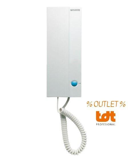 % OUTLET % Teléfono Loft 4+N Basic Fermax 3393
