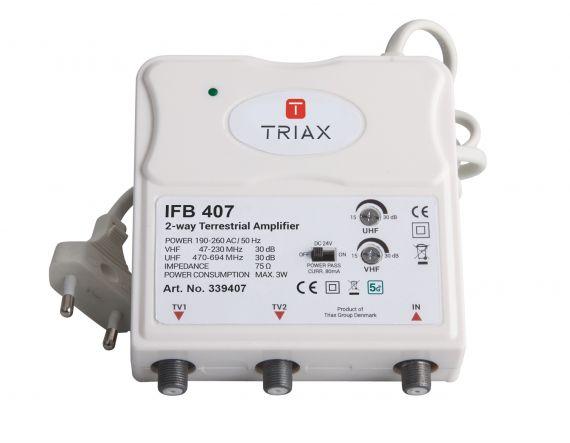Amplificador interior TDT 2 salidas LTE 5G