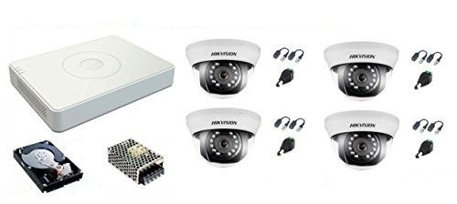 Kit de 4 Cámaras Videovigilancia HDTVI4IND