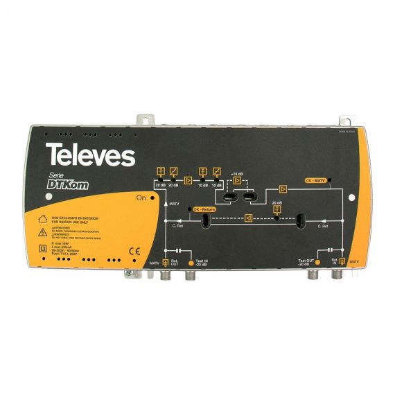 central amplificador 451203