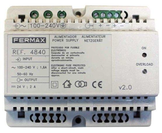 Alimentador DIN-6 24Vdc 2A Fermax 4840