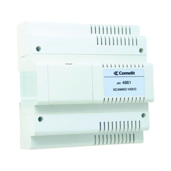 Audio-Video Switch Syst. Simplified Comelit 4861