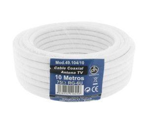 Rollo Cable Coaxial TV 10 metros
