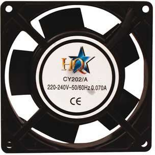 Fan 92x92x25mm power 220/240Va IC-CY 202/A