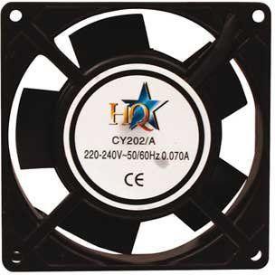 Ventilador 92x92x25mm alimentación 220/240Va  IC-CY 202/A