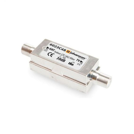 LTE filter 5G 30dB with DC Johansson 6023 C48