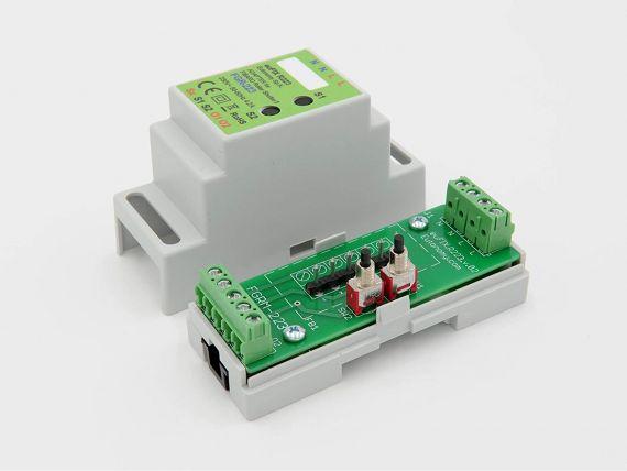 Adaptador DIN euFIX para Roller Shutter FGR-223 de Fibaro