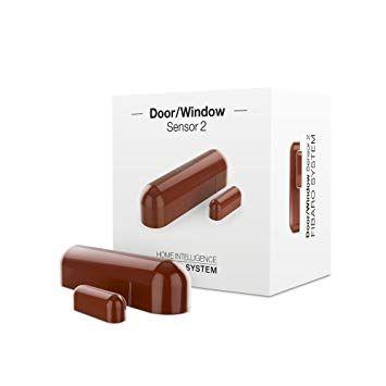 Window / door sensor brown FGDW-002-6 Z-Wave Plus