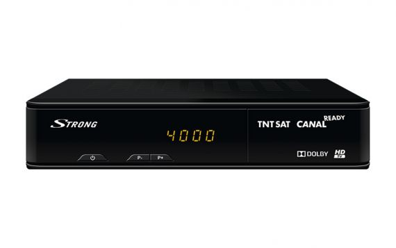 Receptor satélite TNTSAT HD Strong 7404 front