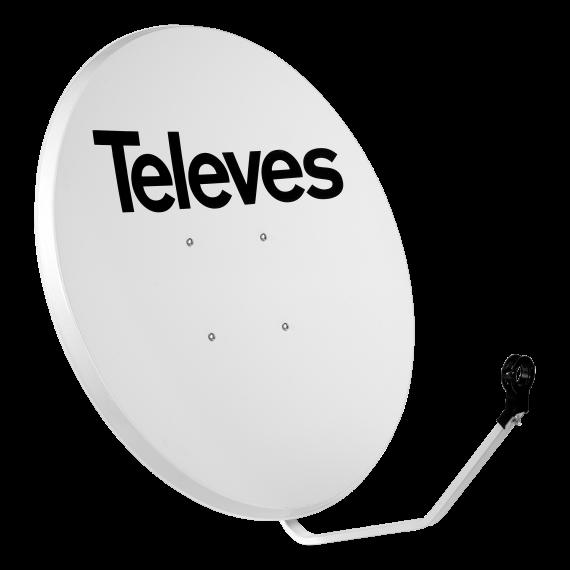 Satellite dish offset 130cm Televes 757401