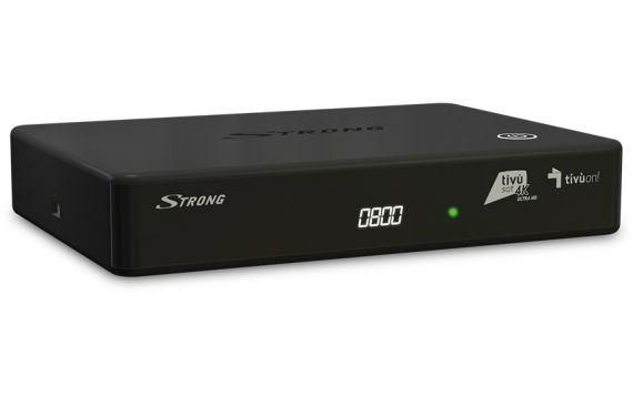 TIVÙSAT 4K SRT 7840 Satellite Receiver