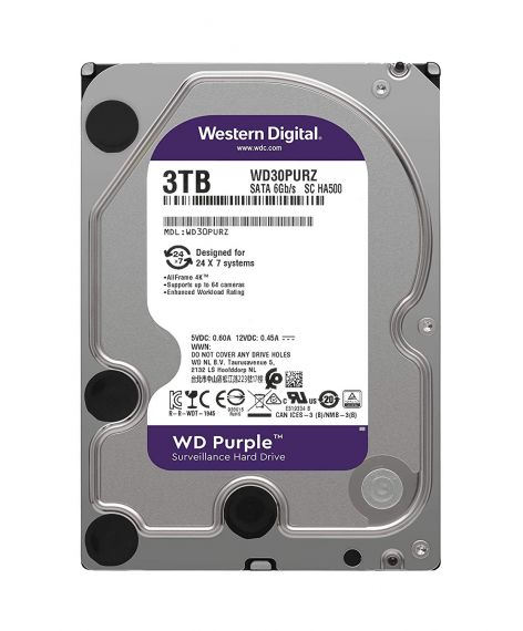 Disco duro purple de 3tb