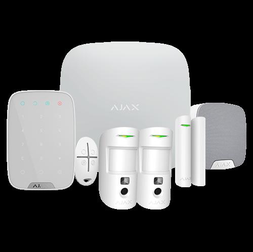 Kit alarma AJAX AJ-HUB2KIT-DP-PRO-W