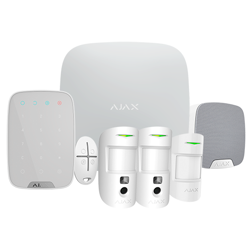 Kit Alarma Inalámbrico AJAX AJ-HUB2KIT-MP-PRO-W