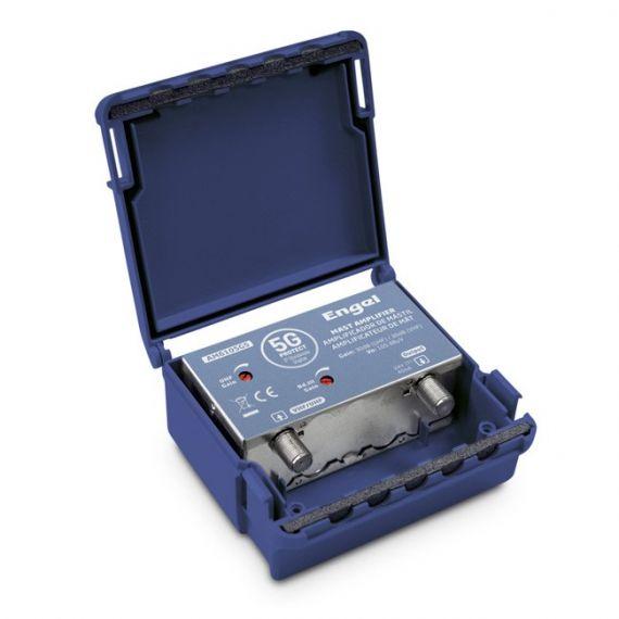Mast Amplifier 1in UHF/VHF 30dB LTE 5G Engel