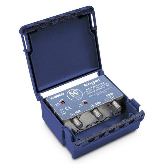 Shielded Mast Amplifier 2in UHF-VHF 40-30dB LTE 5G