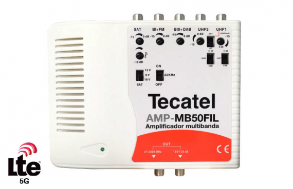 Tecatel AMP-MB50FIL Multiband Amplifier