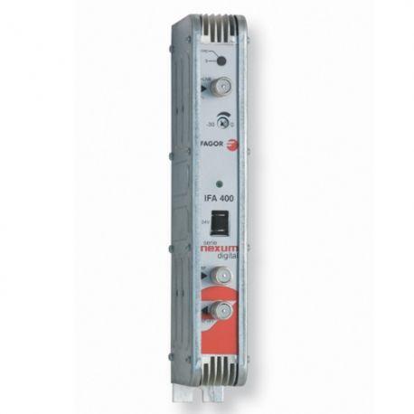 Amplificador Monocanal FI 48dB 950-2150MHz Fagor IFA 400