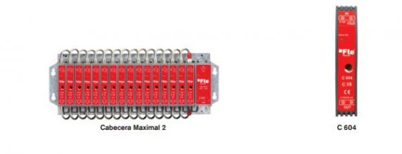 Amplificador monocanal UHF adyacente