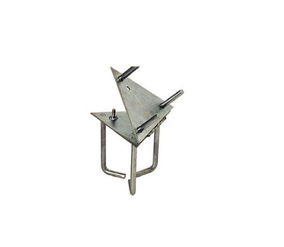 Base abatible para torreta de 175 mm