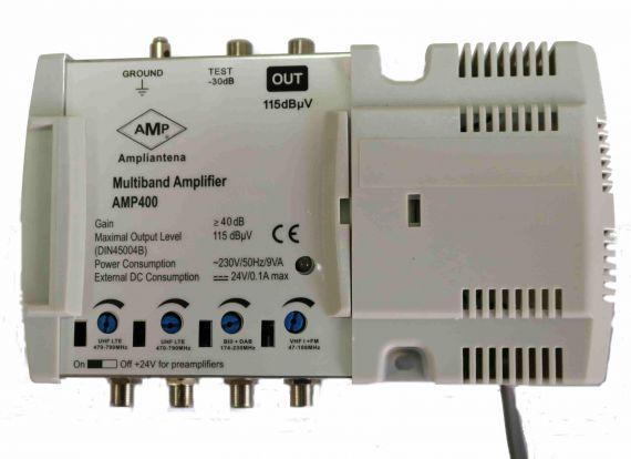 Central amplificadora AMP400