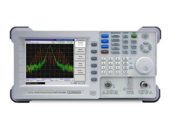 Analizador de espectro 3 Ghz