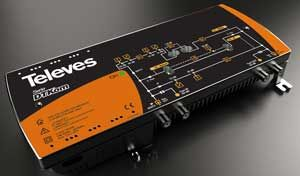 Central Amplifier Dtkom MATV 40/53 DB TEL533501 from Televes