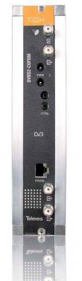 Transmodulador T0X DVBS - COFDM