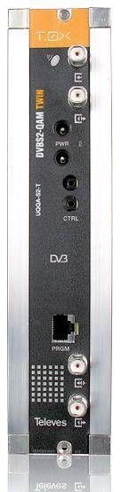 Transmodulador T0X DVBS2 - QAM TWIN