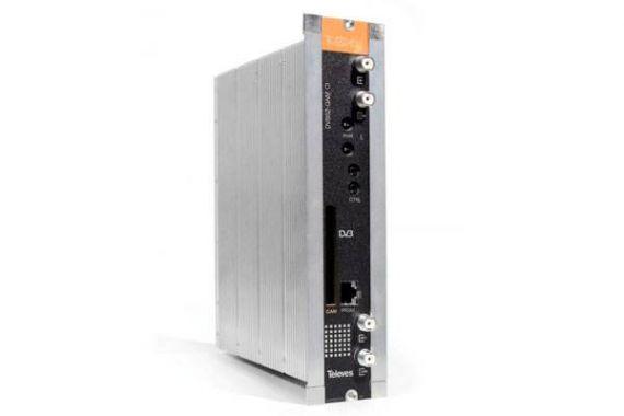 Transmodulador DVBS QAM CI