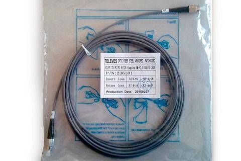 Fiber optic patch cord 20m