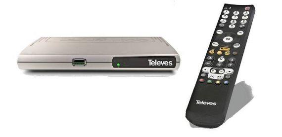 Receptor HbbTV 511501 de Televes