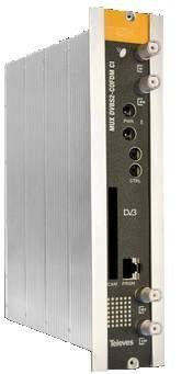 Transmodulador satélite DVB S2 QAM CI