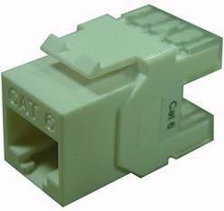 Conector de Datos RJ45 UTP CAT-6 Hembra (Auto-crimpable)