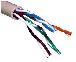 Cable de datos FTP CAT5 E longitud de 305 metros