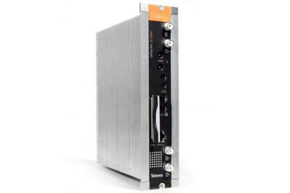 Transmodulador T0X QPSK - PAL