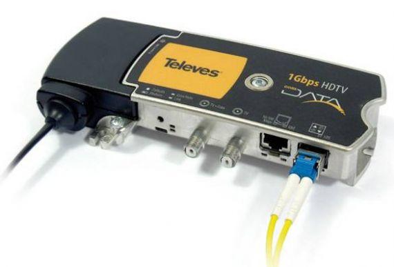 Coaxdata de fibra óptica 769202 de Televes