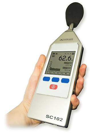 Sonómetro para medir el sonido
