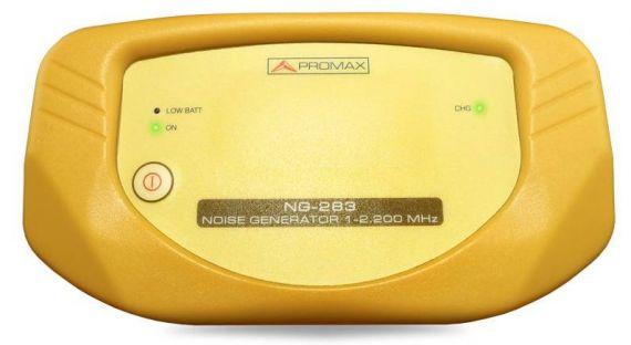 Generador de ruido de 1 a 2200 Mhz nivel 70 dBuv