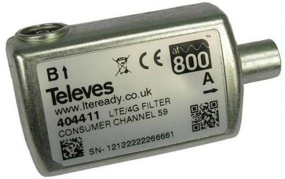 LTE Filter inside
