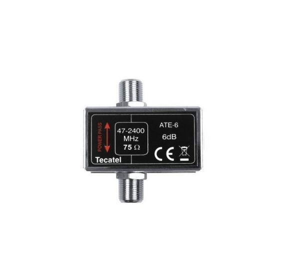 Atenuador fijo 6dB RF+FI Tecatel ATE-6