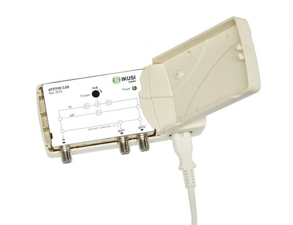 Indoor Amplifier DTT-SAT ATP-290-C48 Ikusi 3593